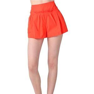 Marc by Marc Jacobs Orange Shorts, NWT $258! sz. 8